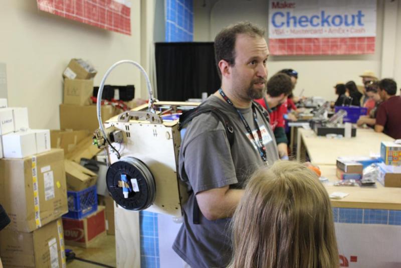 Davis Makerspace at Maker Fair